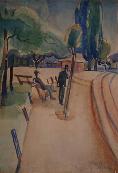 Paris, 1907 - Kmetty János