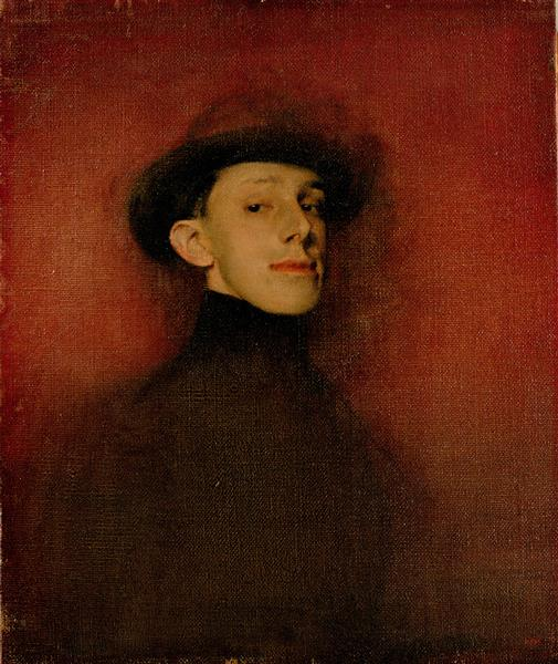 Study from Life for the Portrait of King Alfons XIII - Ramon Casas