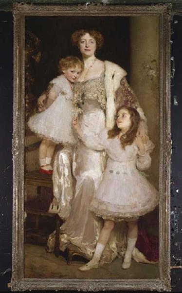 Family Portrait - Solomon Joseph Solomon