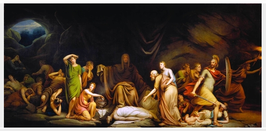 Court of Death, 1820 - Rembrandt Peale