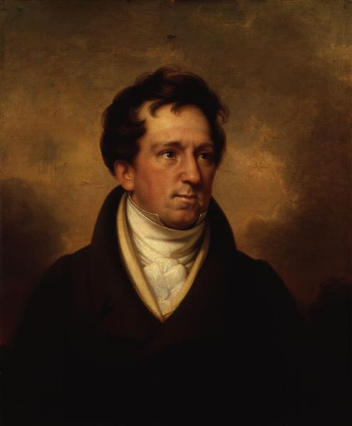 Charles Mathews - Rembrandt Peale