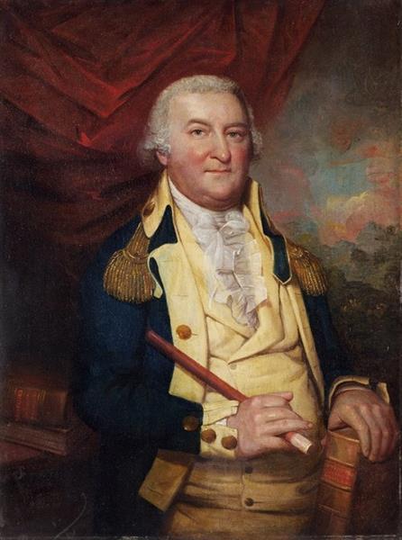 Portrait of Governor John Hoskins Stone of Maryland - Rembrandt Peale