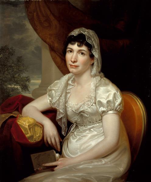 Portrait of Jane Griffith Koch - Rembrandt Peale