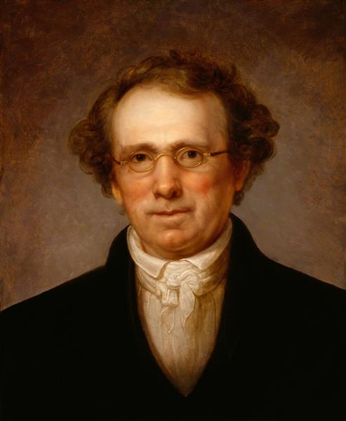 Portrait of Henry Robinson - Rembrandt Peale