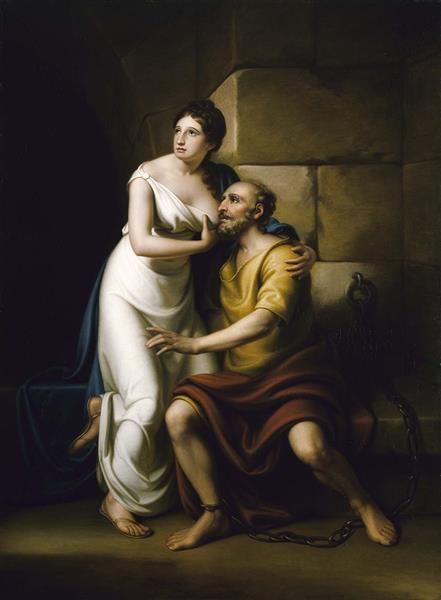 The Roman Daughter, 1811 - Rembrandt Peale