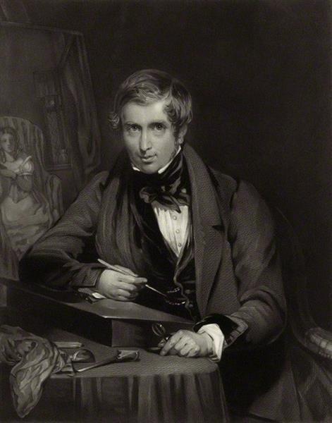 Portrait of Robert Graves, 1835 - Robert William Buss