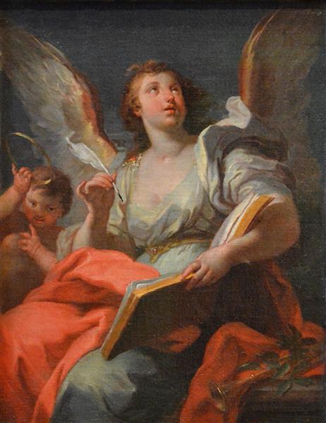 Allégorie De La Renommée, 1730 - Sebastiano Conca
