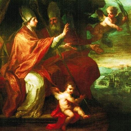 I Santi Erasmo E Marciano - Sebastiano Conca