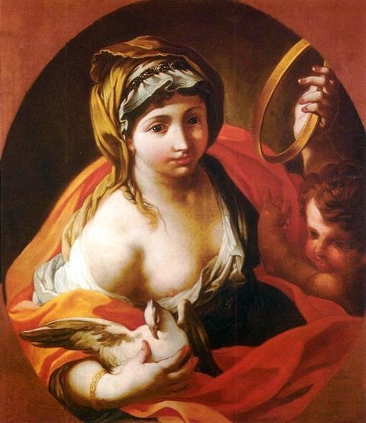 Allegory of Peace - Sebastiano Conca