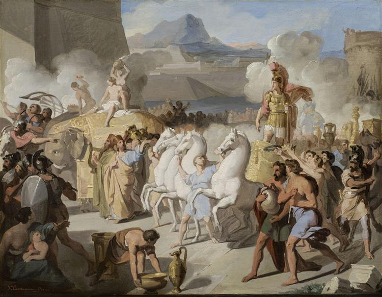 A Roman Triumphal Entry, Possibly of Marcus Claudius Marcellus, 1816 - Vincenzo Camuccini