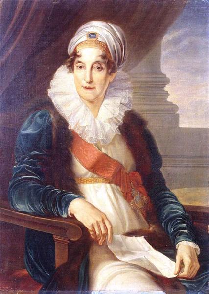Portrait of Ekaterina Petrovna Shuvalova - Vincenzo Camuccini