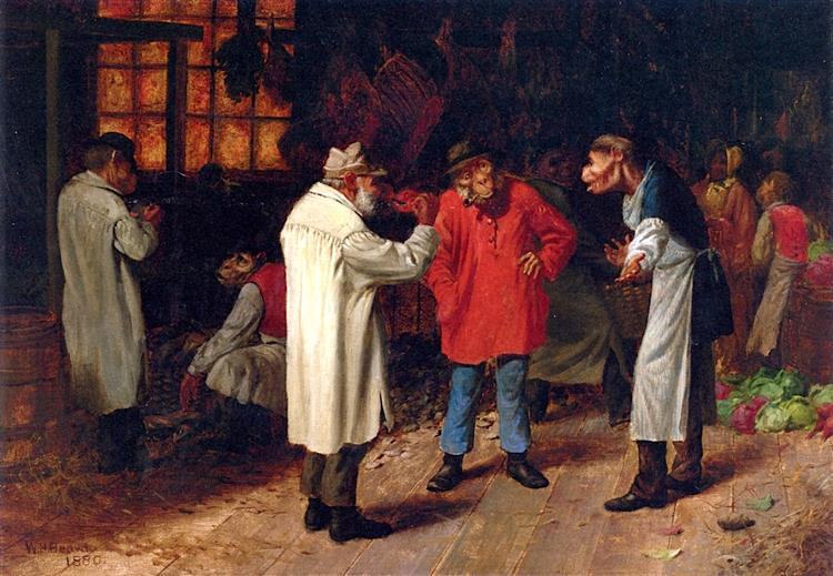 Politics in the Market, 1880 - Вільям Голбрук Бірд