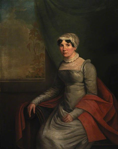 Portrait of a Seated Woman - William Shiels