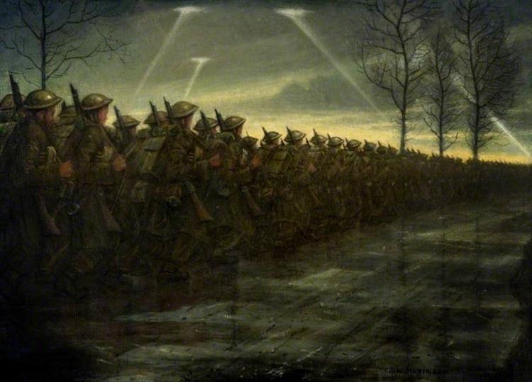 March of Civilisation, 1940 - Christopher Nevinson