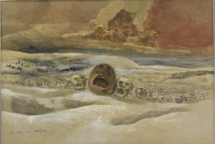 Follow the Fuhrer Over the Snows, 1942 - Paul Nash