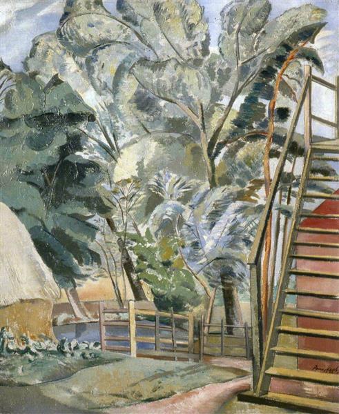 Granary, 1922 - 1923 - Paul Nash