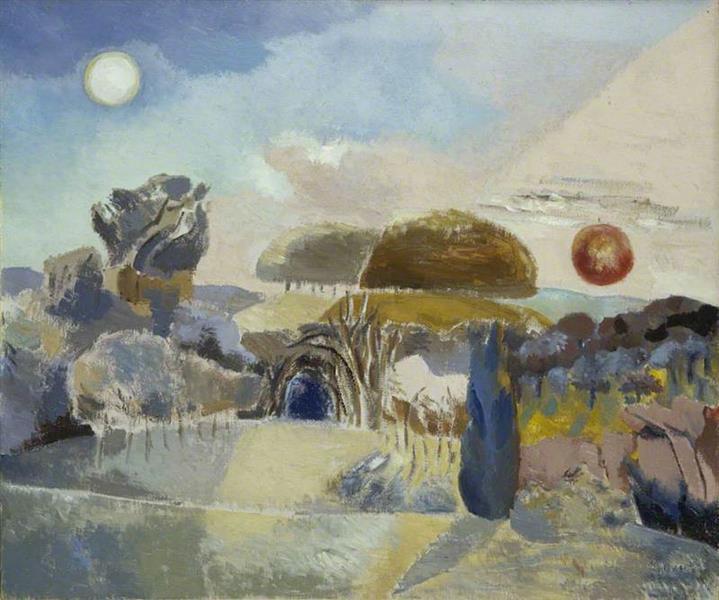Landscape of the Vernal Equinox (III), 1944 - Paul Nash