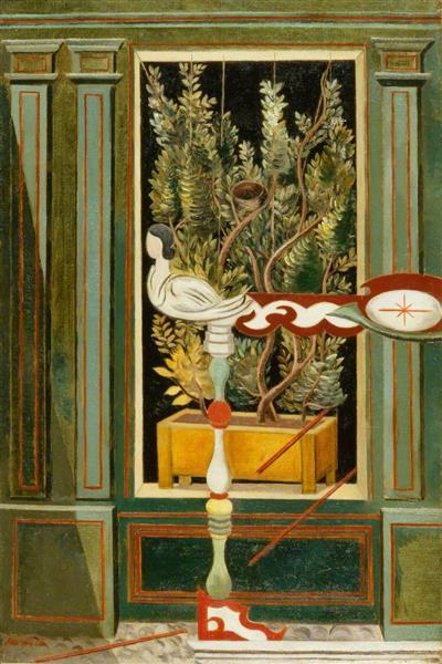 Nest of the Siren, 1930 - Paul Nash