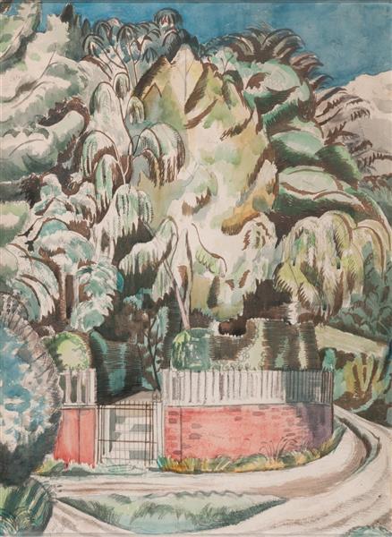 The Corner, 1919 - Paul Nash