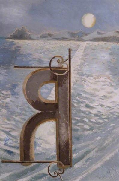 View R, 1940 - Paul Nash