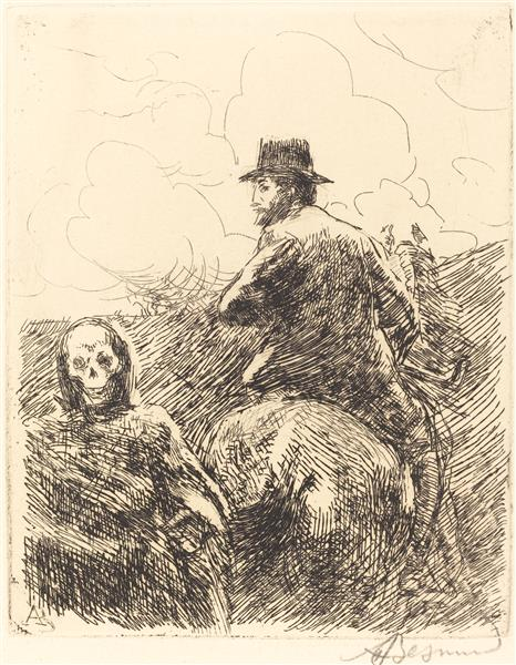 Danger Passed, 1900 - Paul-Albert Besnard