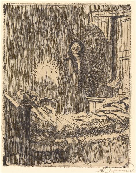 Discreet (discrète), 1900 - Paul-Albert Besnard