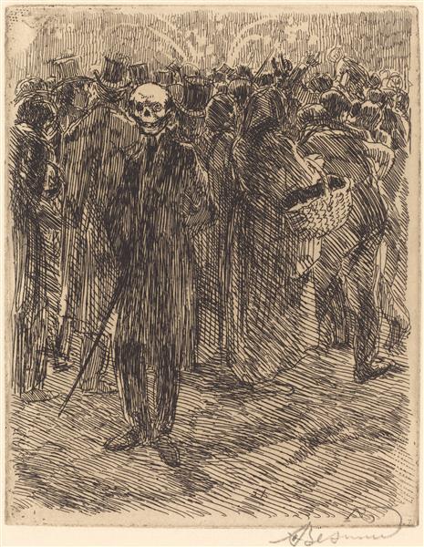 In the Crowd, 1900 - Paul-Albert Besnard