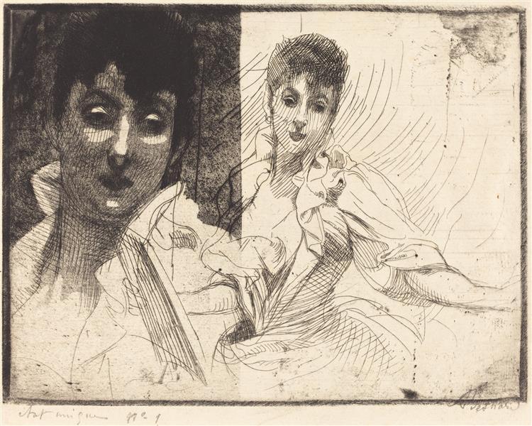 Madeleine Lemaire, 1900 - Paul-Albert Besnard