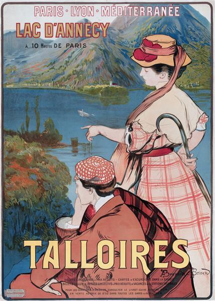 Talloires, 1910 - Paul-Albert Besnard