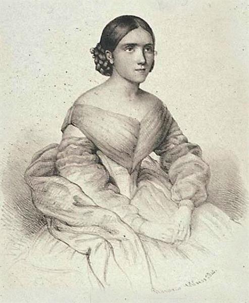 Spanish Opera Singer María Manuela Oreiro Lema, 1841 - Rosario Weiss Zorrilla