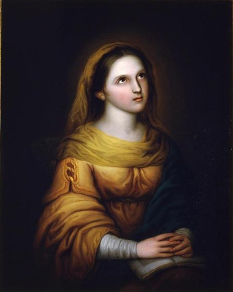 La Virgen En Oración - Rosario Weiss Zorrilla