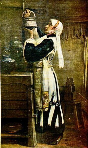 Macedonian Bulgarian Woman from Skopska Crna Gora, 1931 - Ivan Mrkvička