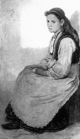 Girl from Pazardzik - Ivan Mrkviсka