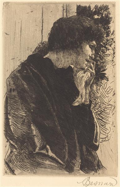 Sadness (tristesse), 1877 - Albert Besnard