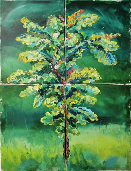Young Oak Tree, 2018 - Vjeran Čengić