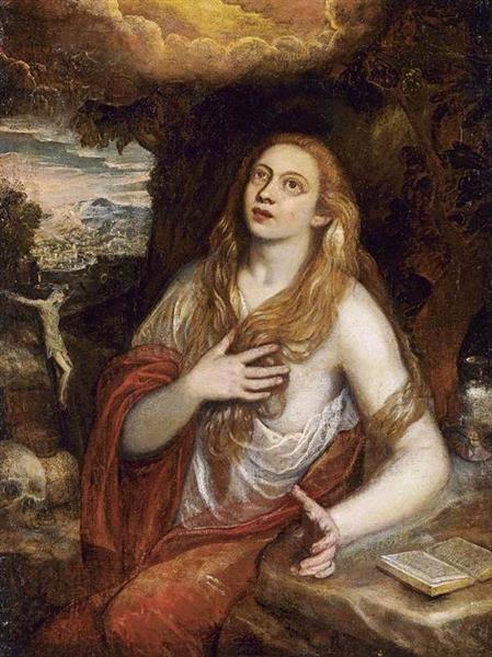 Penitent Magdalene - Domenico Tintoretto