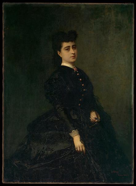 Madame Gaye, c.1865 - Marià Fortuny