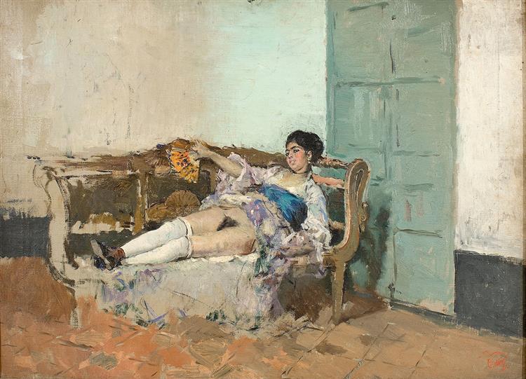 Carmen Bastian, c.1871 - Marià Fortuny