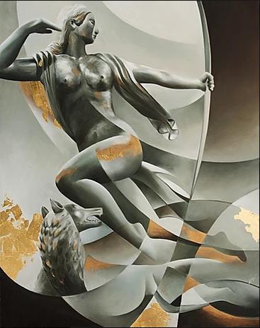 Paul Manship, Deconstruction - Zoe Marmentini