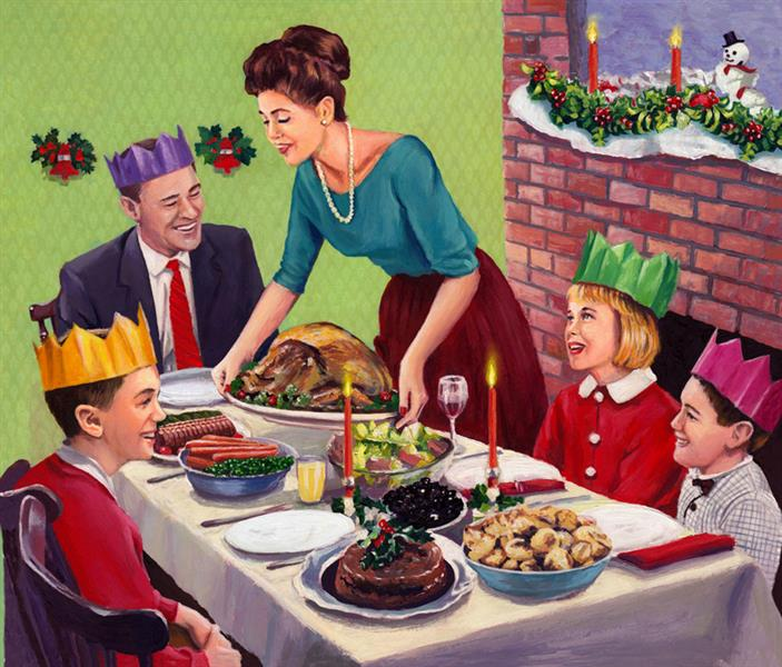 Christmas Dinner, 2018 - 2019 - David Young