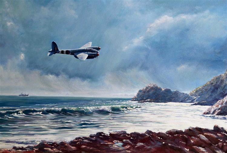 Flying Over Seas, 2015 - 2016 - David Young