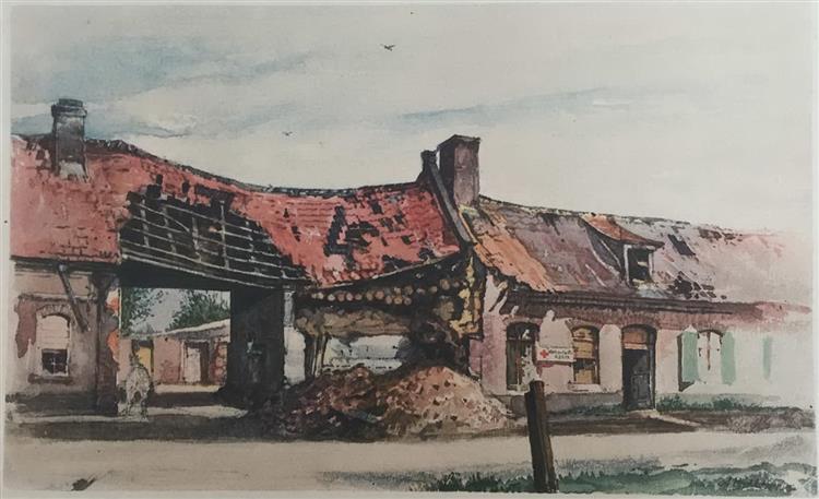 Fromelles, 1915 - Adolf Hitler