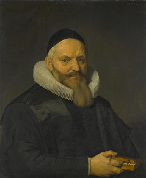 Portret Van Anthony De Wale, 1636 - David Bailly