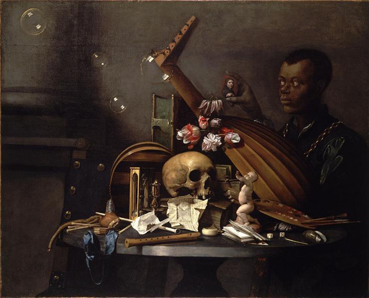 Vanitas, c.1650 - Давид Байи