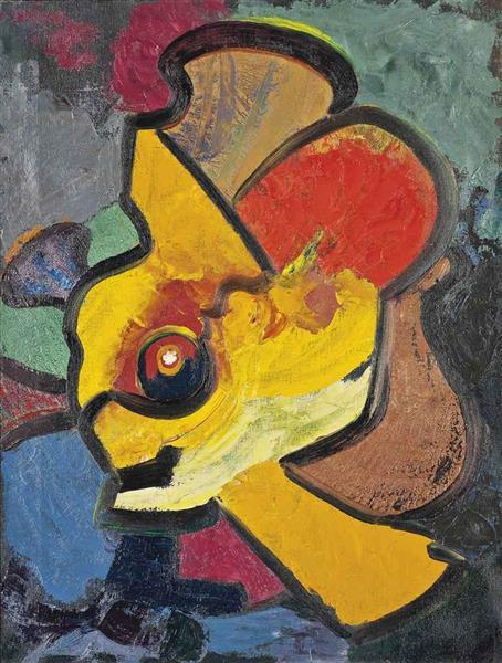 Abstrac, 1957 - Grace Pailthorpe