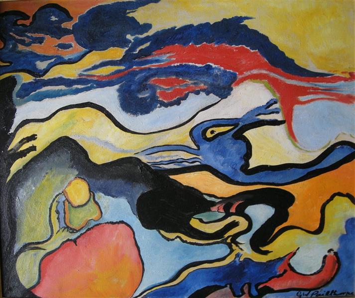 Surrealist Composition - Grace Pailthorpe
