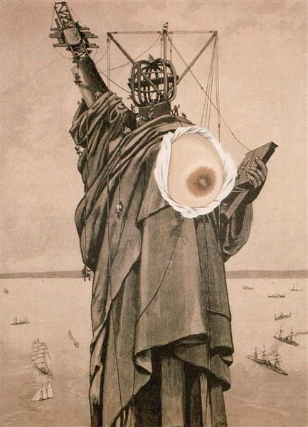 Statue of Liberty, 1934 - Jindrich Styrsky