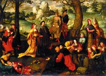 Scenes from the Life of St. Mary Magdalene, c.1519 - Lucas van Leyden