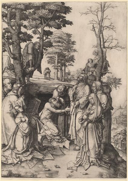 The Raising of Lazarus, 1508 - Lucas van Leyden