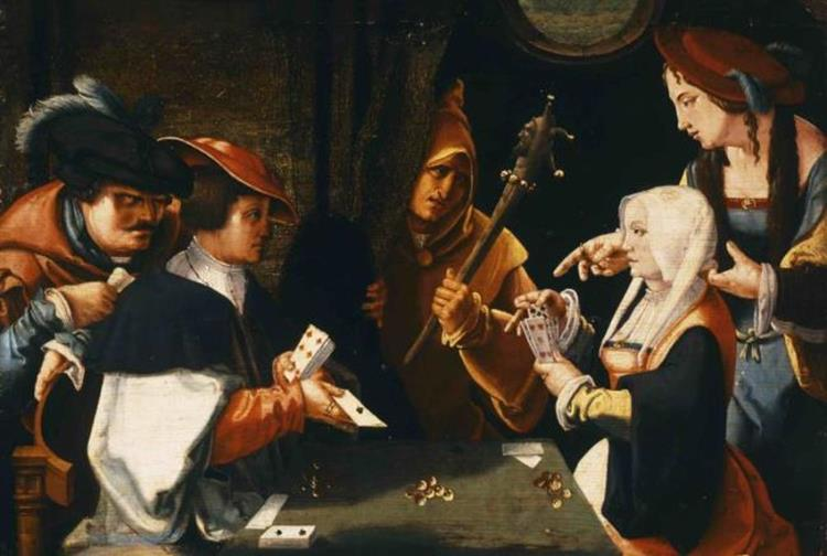 Card Players - Lucas van Leyden